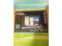 Sat Nav Garmin, excellent condition, live traffic updates, almost new, UK&I, 3D