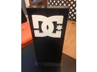 DC Shoes Shop Display Stand Sign