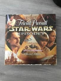starwars collectors edition trivial persuit