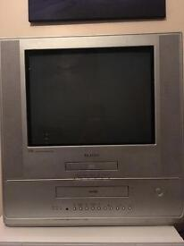 Tv with built in dvd &video