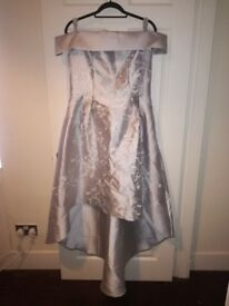 Chi chi london silver dress