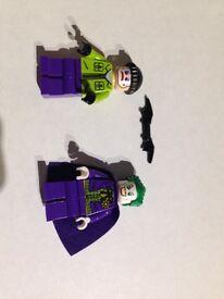 Original Lego minifigures Joker