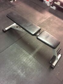Powerline adjustable weights bench