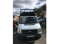 REDUCED SWAPS VANS 2009 59 FORD TRANSIT 2.4 DROP SIDE TIPPER TRUCK 350 SRW RWD PART X POSSIBLE