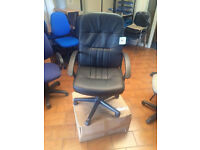 *New* Leather Managers Chairs