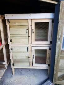 Double rabbit hutch