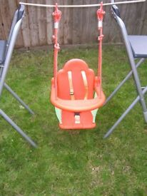 Baby to toddler swing seat
