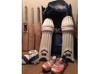 Gunn and Moore Mana full adults cricket kit