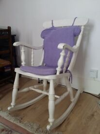 Antique / period painted rocking chair