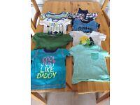 Baby boy clothes 9-12 mths