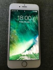 iPhone 6s 16gb o2/tesco silver