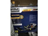 Mac allister laser wet tile cutter