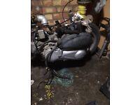 Honda sh 150cc engine missing wheel exhaust