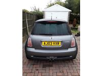 £1400 no offers !! MINI COOPER S SUPERCHARGER MODEL. 03 PLATE JUST HAD 2K SPENT ON IT. LONG MOT.