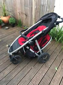 Phil and teds double buggy