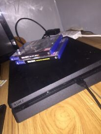 1 week old PS4 500gb with 2 games