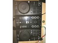 Hercules DJ AIR Mixing Decks
