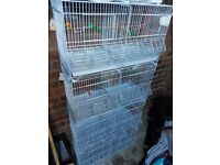 Double breeding cages