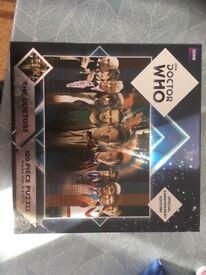Dr Who anniversary jigsaw