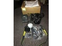 Nikon D3200 DSLR Camera - Never used, Bargain