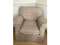 Laura Ashley Spotty Chair
