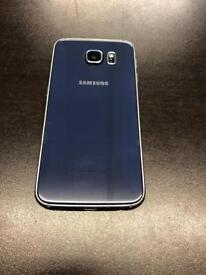 Samsung galaxy s6 64gb Unlocked very good condition with warranty blue