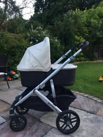 Uppababy Vista 2015 model (converts into double)