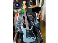Fender MIM Strat - Ghost Silver