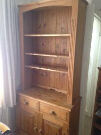 Natural Wood Dresser - adjustable shelves