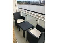 Garden Furniture Two Set with Table