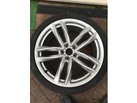 Audi a6,a7 alloy wheel genuine .20 inch
