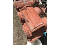 Reclaimed Red Sandtoft Pan roof tiles approx.900 Job lot