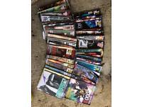 Judge Dredd, 2000AD magazines & others