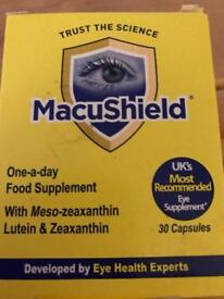 Macushield one a day eye supplement