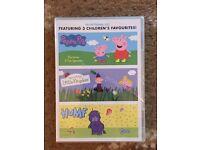 3 Children's Favourites Promotional DVD. Includes :- Peppa Pig, Ben & Holly's Little Kingdom & Humf.