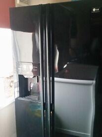 American LG fridge freezer