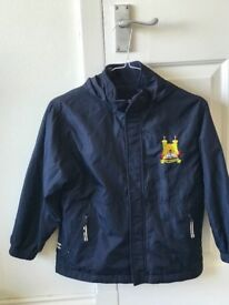 Forthill Primary Coats age 5-6 and 6-7