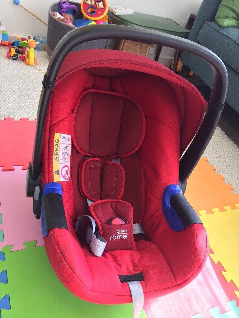 Britax Römer baby-safe i-Size car seat (up to 13kg!)   in Putney ...