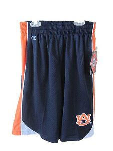 Colosseum Athletics Boys Auburn Tigers Basketball Shorts Size Medium 12-14 NWT