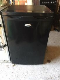 Black Whirlpool fridge