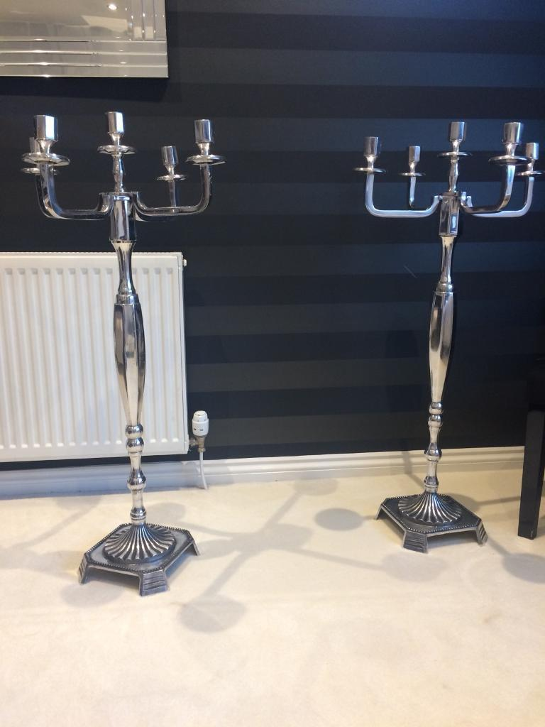 2 candelabras for sale