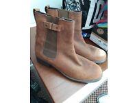 Brown ladies boots