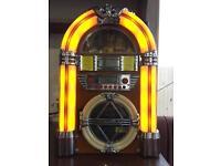 Mini Jukebox Bluetooth CD Radio Aux