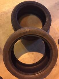 2 x 275/40/R20 Tyres
