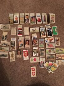 Cigarette cards wills and players