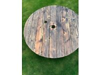Cable Reel Coffee Table - 140cm width