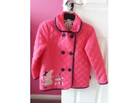 Peppa Pig quilted coat