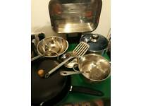 Kitchen Pan's Bowls and More Cookware Large Set