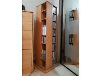 Revolving DVD / CD Storage Unit