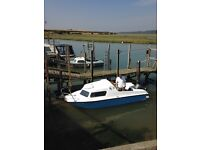 Microplus 500 Boat 16 ft with 12HP Mariner engine